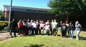 Bruton environmental science class