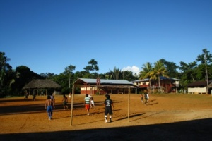 Sarayaku soccer